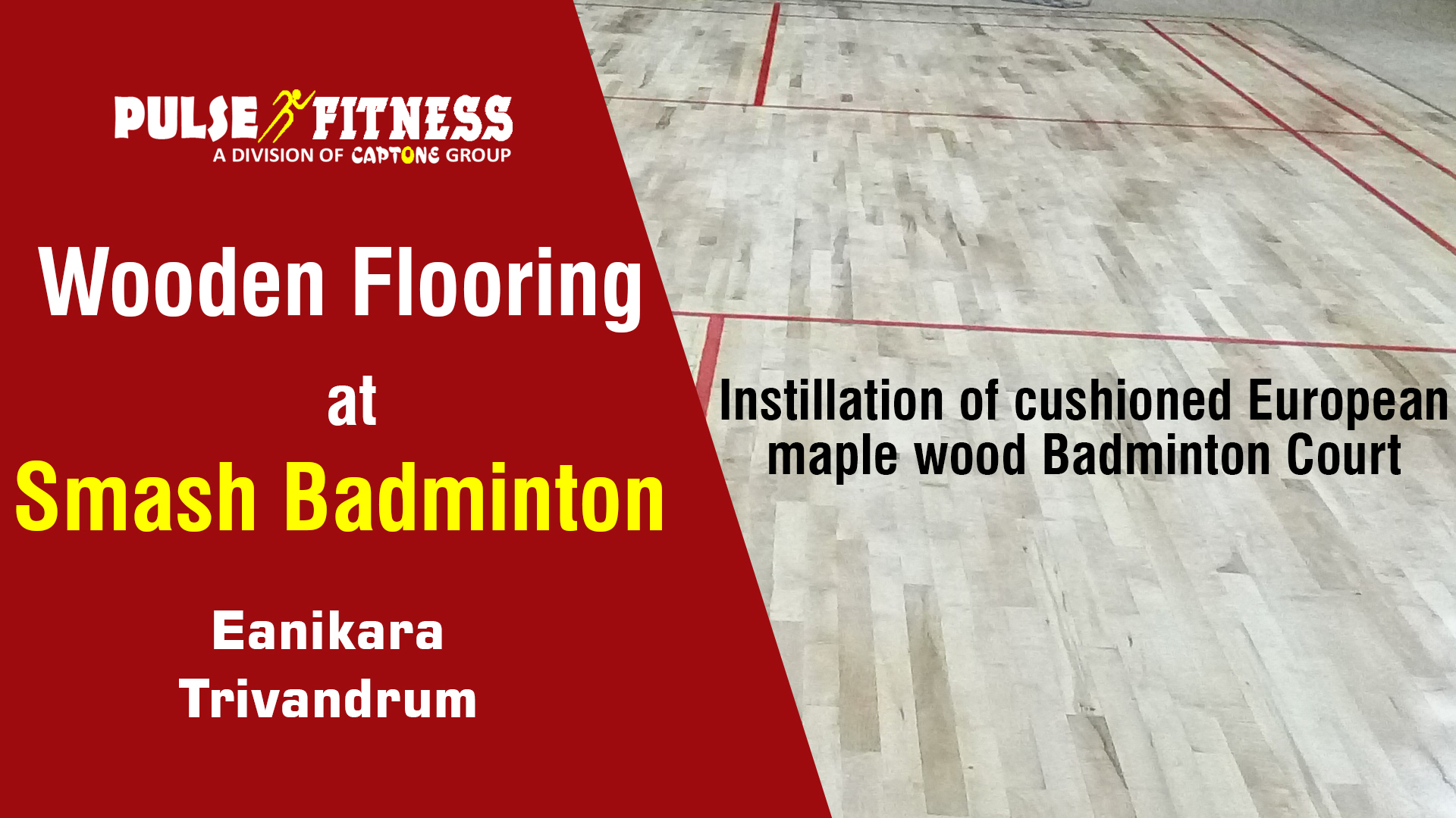 Wooden Court Flooring Eanikara